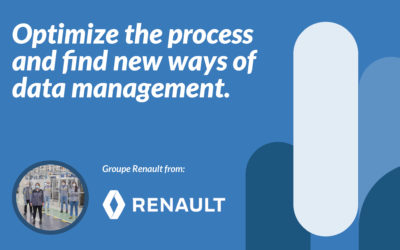 Optimize the process and find new ways of data management.