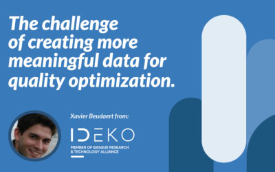 The challenge of creating more meaningful data for quality optimization.
