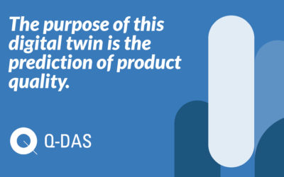 The purpose of this digital twin is the prediction of product quality.