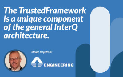 The TrustedFramework is a unique component of the general InterQ architecture.